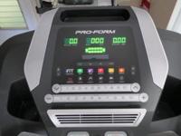 Pro-Form Efficiency 400c Treadmill. Like new in