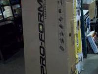 PRO FORM TREADMILL $$$$279.00 NEW IN BOX UPC  SURPLUS