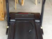 Pro Form treadmill, excellent condition, digital