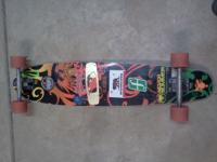 NeverSummer deck slightly used, Randall trucks,