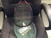 This is a Pro Kennex Fusion 31 100 SQ-IN Racquetball