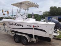 2004 PRO LINE 20 SPORT EQUIPPED WITH YAMAHA V150 DELUXE