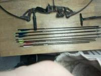 I have a pro sport bow with assortment of arrows, drop