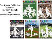 Uniguely designed Coloring Books available on