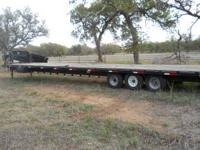Triple Axle Pro Trak 48 ft Gooseneck 3 - 7000 axles,