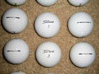 1 Dozen Titleist Pro V1's in like new condition. 36 Pro