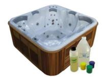 Pro Spa And Hot Tub Painting Kit In 13 Hi Gloss Colors.