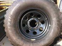 I have up for a sale a set of procomp mud terrain tires