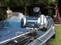 Great fishing boat and it is ready to fish.  24 volt