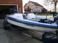 1998 ProCraft Pro 170 DC with 1999 Mercury 125 HP