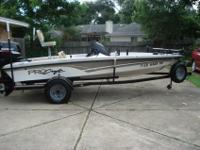 Beautiful '03 ProCraft 175 Bass Boat designed by Bill