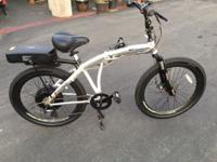 Prodeco Genesis 500 Electric Folding Mountain Bike -
