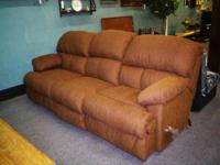 This Couch is made by Ort Furnishings in Salem Ohio.