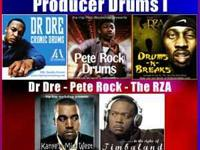 Drum kits from the industries best producers -Dr.dre