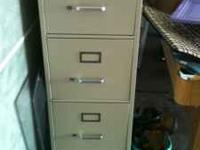 Professional 4 drawer filing cabinet. It's in great