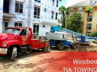 TIA Transport and Towing Heavy Duty Equiptment Towing