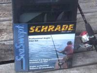 *NEW* Schrade SeaSwept Professional Angler Fillet Set.