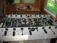 Heavy Duty Professional Foosball Table in Excellent