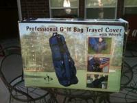 "Professional Golf Travel Bag with wheels. Made by ""In"