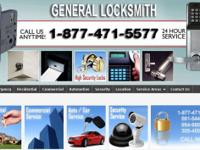 GENERAL LOCKSMITH is the most trusted name in the