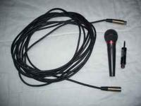 I have a Audio Technica ATM 41a Microphone with cable,