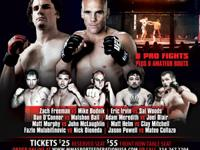 Professional MMA. Freeman vs Budnick. 8 Professional