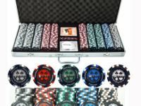 Professional Poker Set 500 chip 500 Quality Dual-Toned