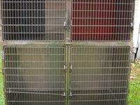 USED Shor-Line Stainless Steel Kennel Use this in your