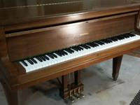 "Expertly recovered 5'0"" 1925 Kimball Baby Grand Piano"