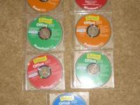 Set of 7 Professor Teaches CD, all in excellent
