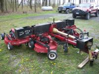 PROGRESSIVE PROFLEX 120 10' MOWER VERY NICE NEW GEAR