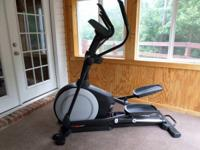 Offering my Proform 510e front drive elliptical