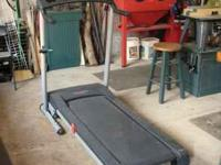 ProForm 540 Treadmill with digital readout. Very Good