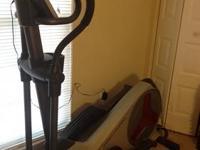 Proform 6.0 ZE Elliptical for sale. Purchased from