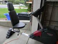 Proform Exercise bike for sale. It has multiple