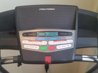 Gently used treadmill - Original link -