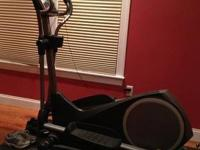 ProForm elliptical 390e. With iPod connection wire