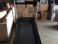 We got this wonderful treadmill last October. We