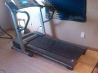For sale; Proform series 525 pro treadmill like new