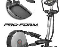 The ProForm 925 SpaceSaver: Elliptical has 6 Targeted