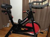 I got a proform spinner bike in great condition. I