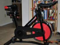 Proform 290 SPX spinning bike..almost brand new,