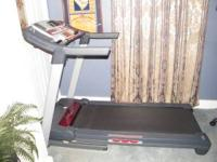 Brand new ProForm Treadmill. Has pre-programmed