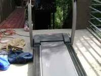 Selling a treadmill featuring electronic functions,
