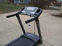 I have a Pro-Form 5.5 Crosstrainer treadmill. It's only