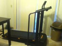 Proform Treadmill. It functions fine, except the