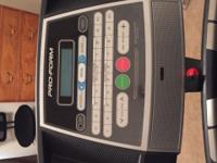 Treadmill for sale rarely used excellent condition