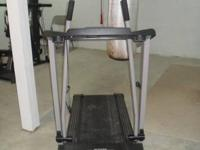 ProForm Crosswalk 395CW, Power incline, like new. $150