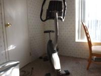 Proform stationary bike includes fan so you don't get