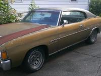 I am looking to sell my 72' Chevelle Malibu. $4,000 or